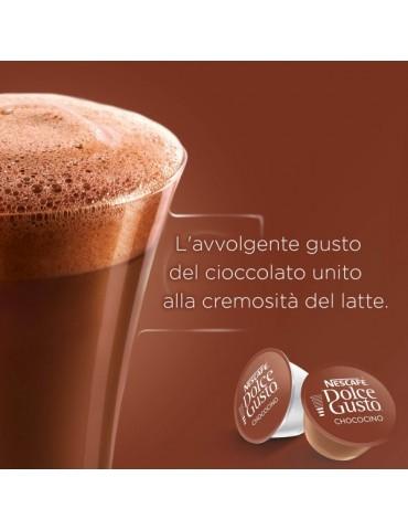 Chococino è una bevanda perfetta per grandi e piccoli. Senza glutine.