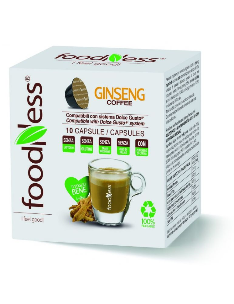 FOODNESS DOLCE GUSTO Ginseng