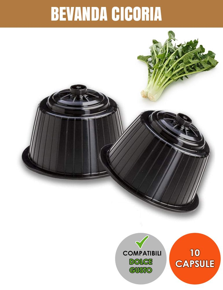 SerCoffee 10 CAPSULE Compatibili DOLCE GUSTO Bevanda Cicoria