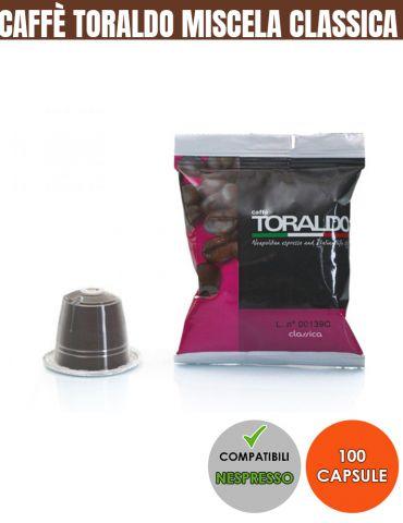 Toraldo 100 capsule compatibili NESPRESSO miscela Classica
