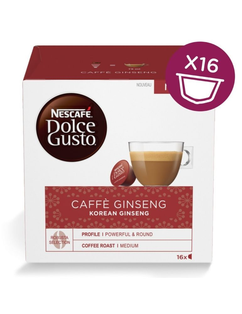 Dolce Gusto Caffè GINSENG 16 Capsule